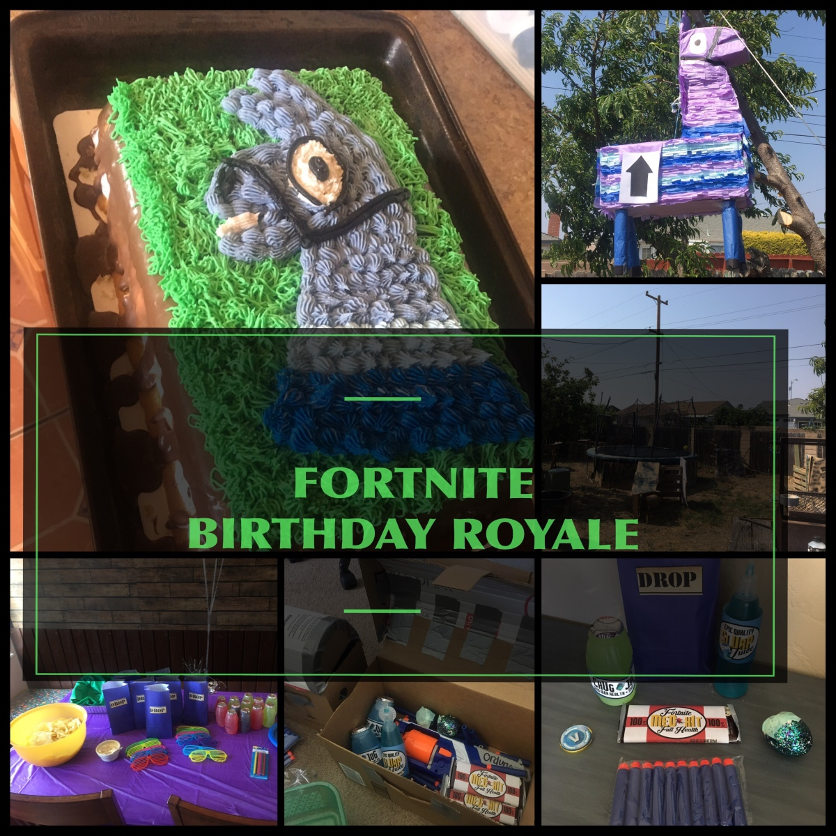"FortNite ""Birthday Royale"" Party!"