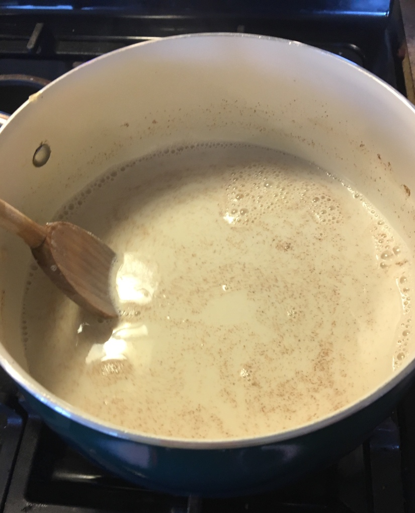 Atole in the making