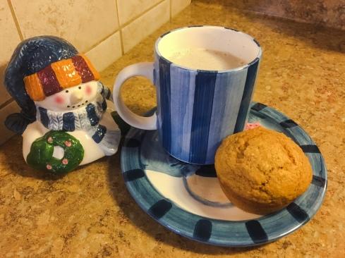 Vanilla Atole & Pumpkin Spice Muffins
