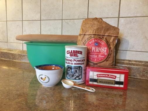 Homemade Flour Tortilla Ingredients