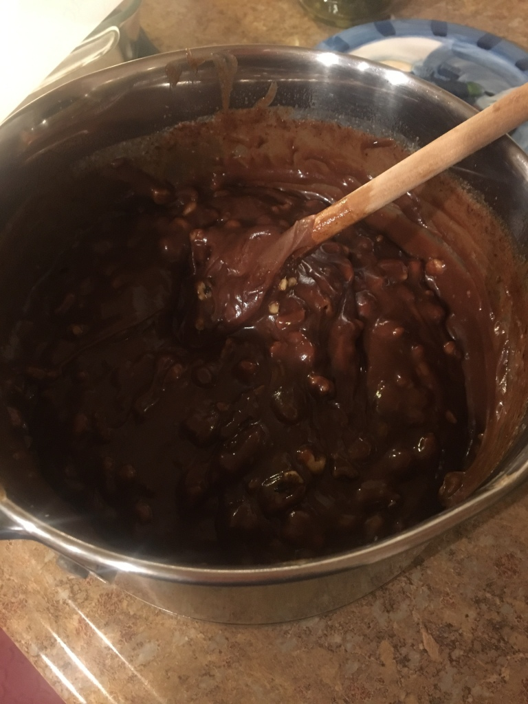 Life Amor Family's 12 days of baking and candy making day 6 Fudge