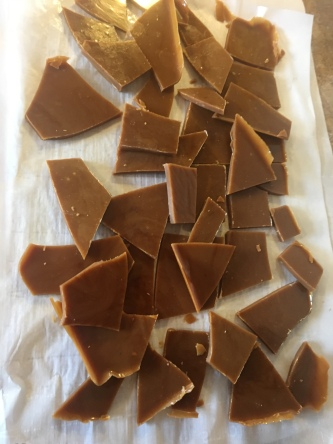 Life Amor Family's 12 Days of Baking and Candy Making Day 4 English Toffee