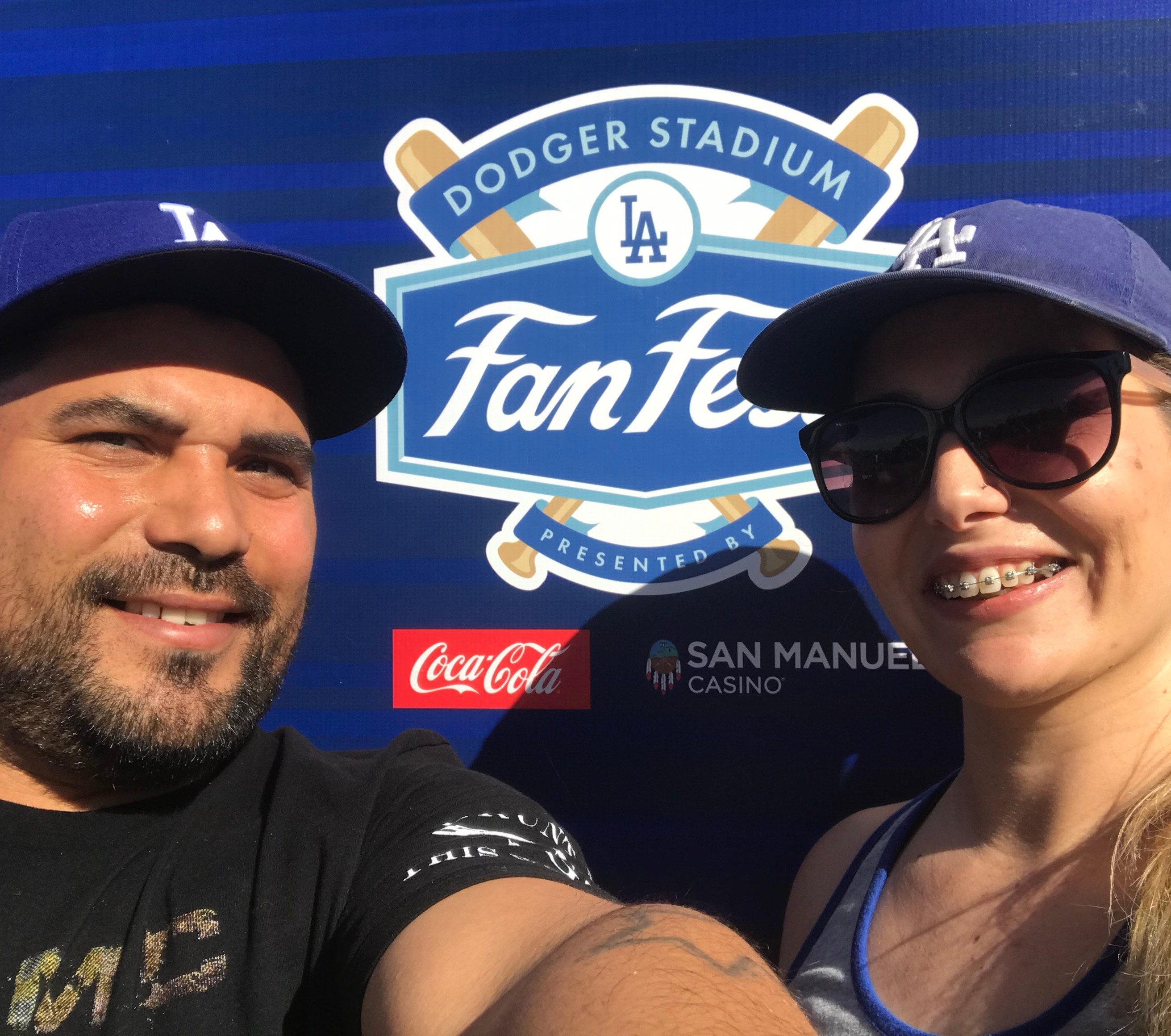 Dodger Stadium Fan Fest 2019