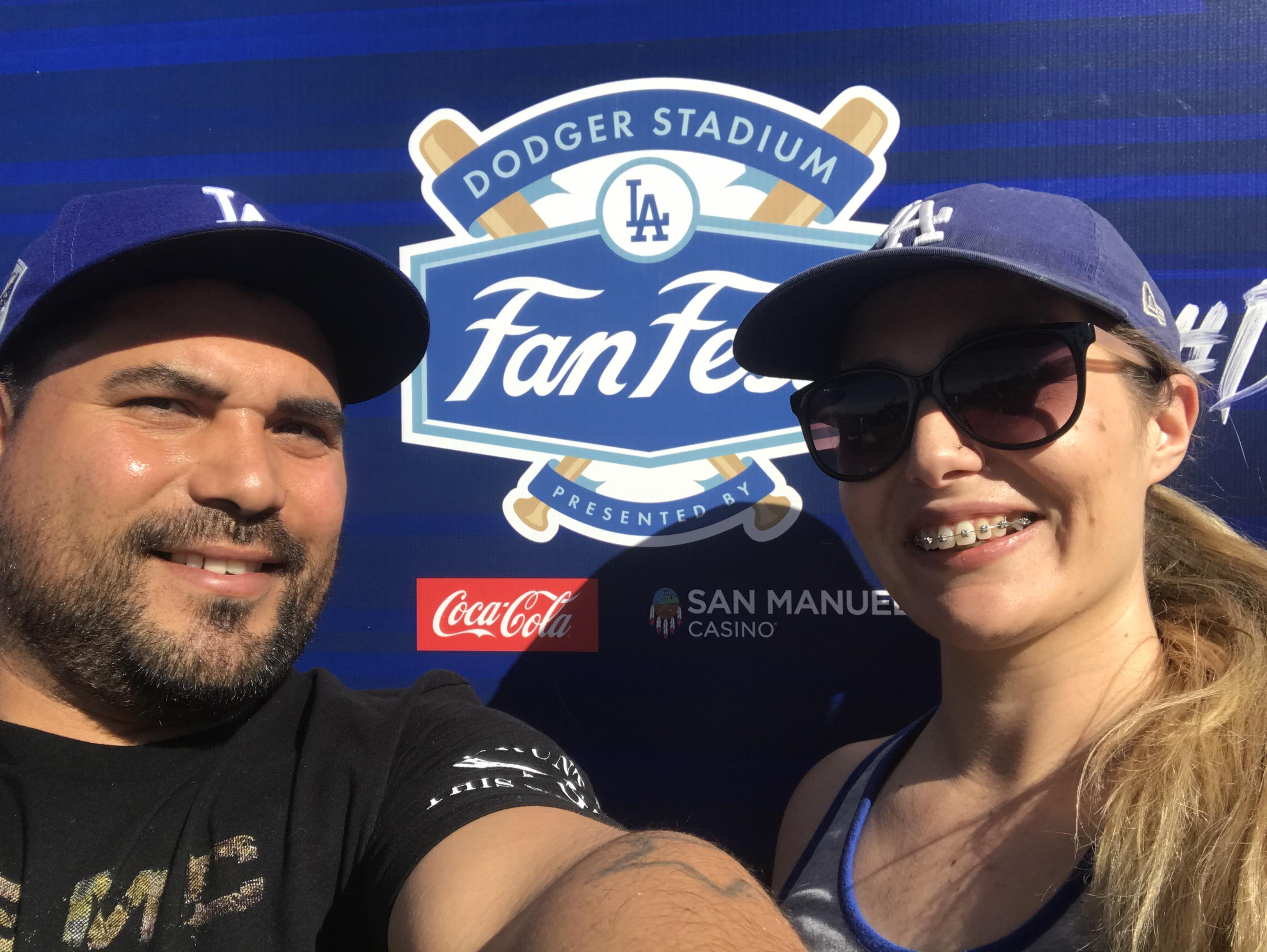 Dodger Stadium Fan Fest 2019
