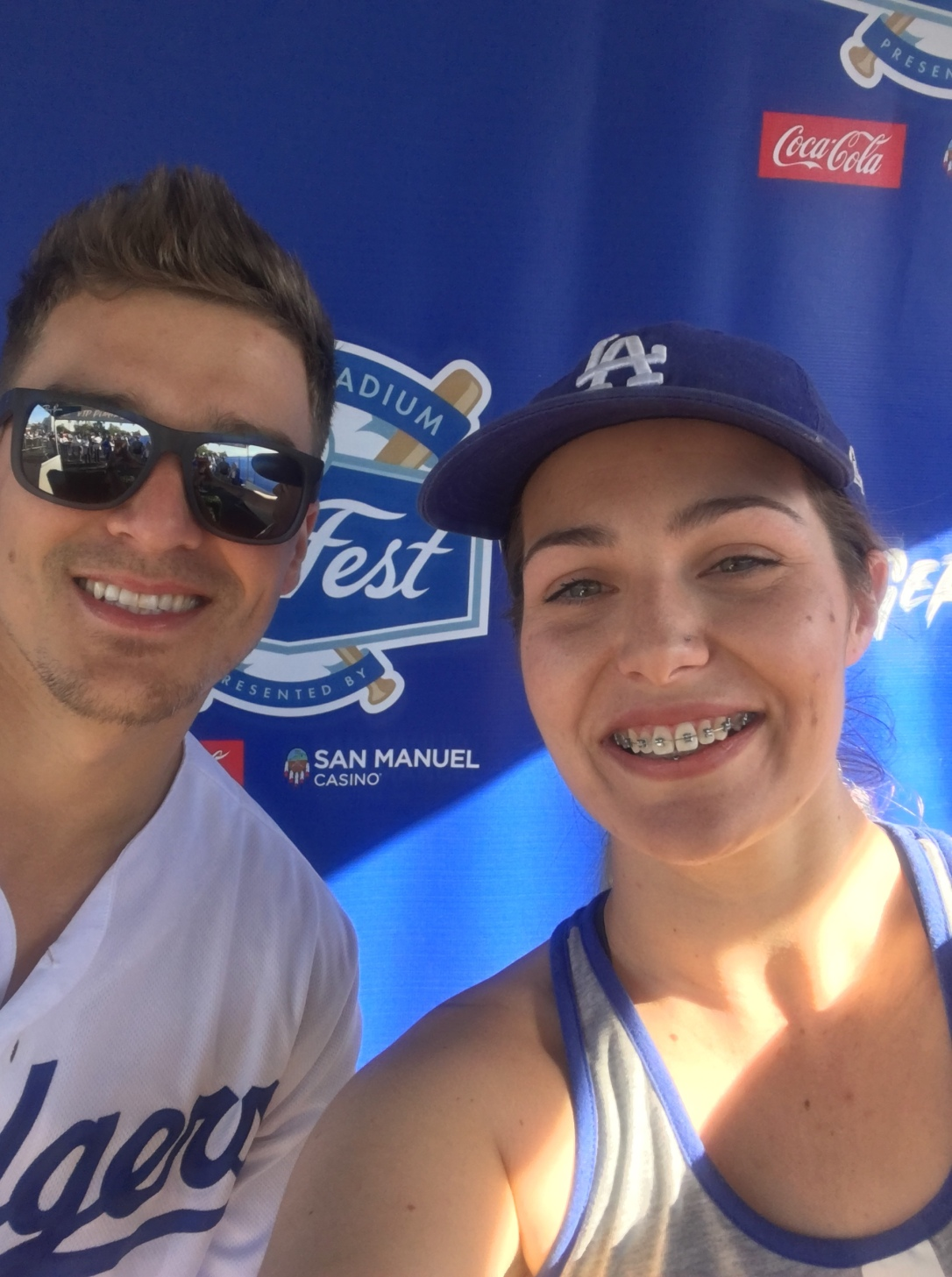Fan Fest 2019 Selfie with Kike Hernandez