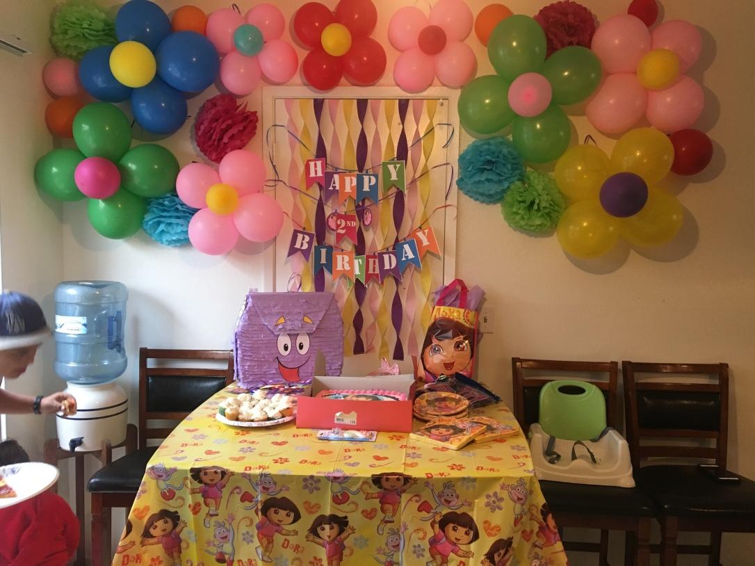 Macy-Janes Dora the Explorer Birthday Party