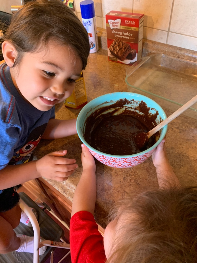 Lifeamorfamily's Mexican Chocolate Brownies