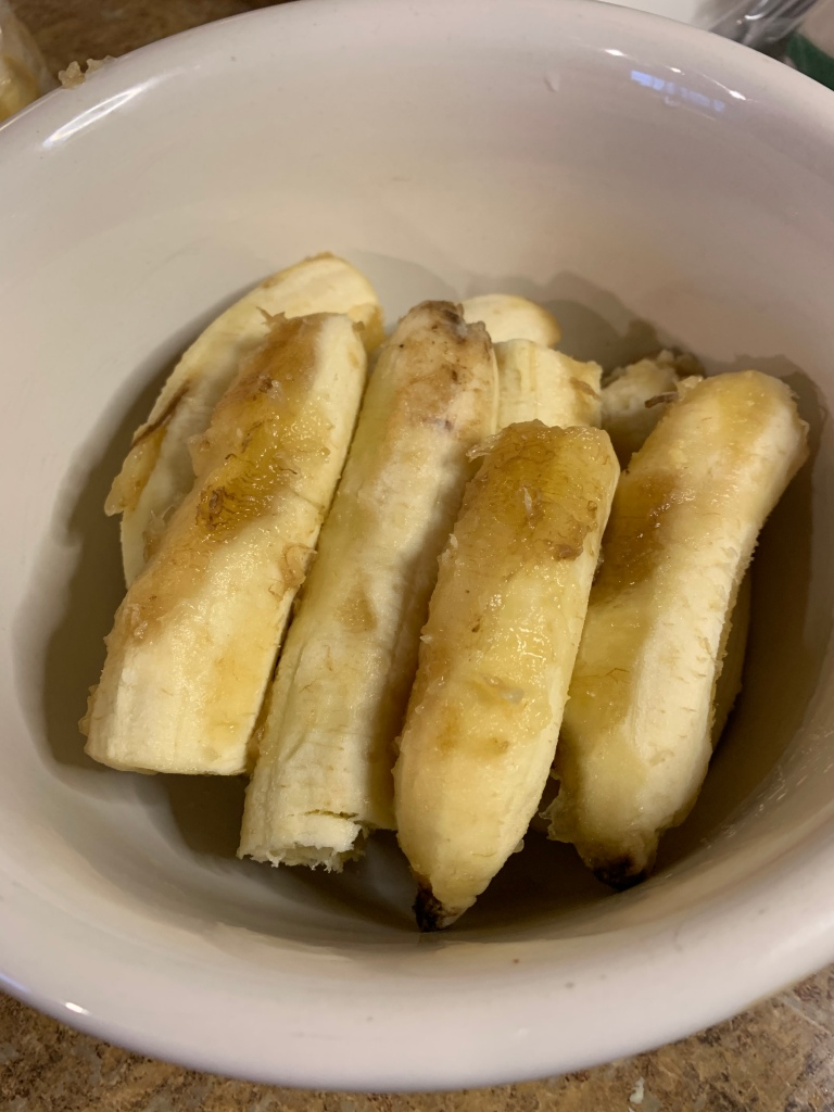 LifeAmorFamily's Healthy-ish Banana Bread pureed banana